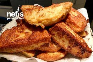 Yumurtalı Ekmek Kızartması ( Kahvaltı Ve Sahur İçin) Tarifi