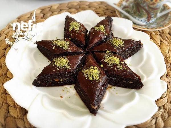 Çikolatalı Kolay Baklava