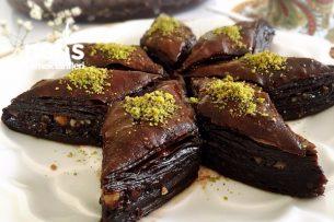 Çikolatalı Kolay Baklava Tarifi