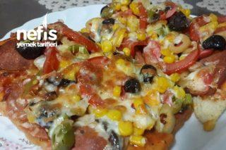 Evde Yapabileceğiniz Kolay Pizza Tarifi