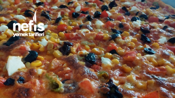 Akdeniz pizza
