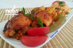 Garnitürlü Muhteşem Tavuk Sarma Tarifi