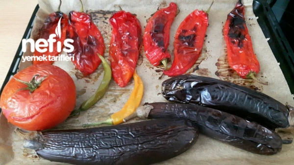 Közlenmiş Patlıcanlı Ezme