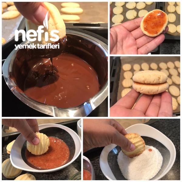 Bayatlamayan Pastane Kurabiyesi (  Enfes lezzette)