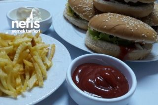 Çok Pratik Köfteli Hamburger Tarifi