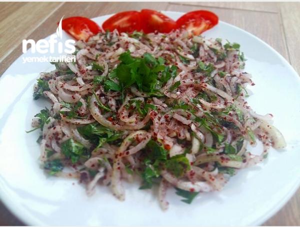 Hakiki Adana Usulü Soğan Salatası