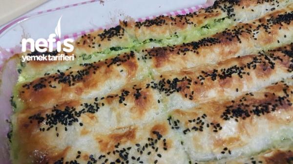 Ispanaklı Çıtır Rulo Börek
