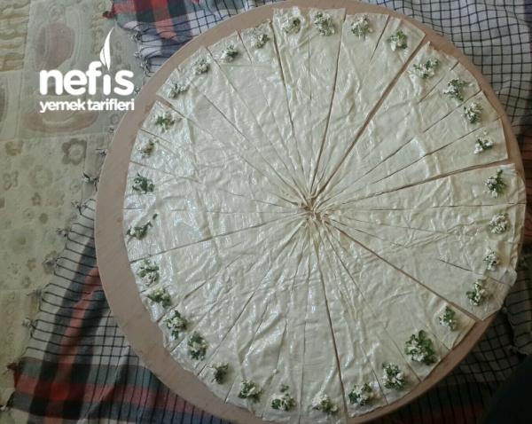 Kremalı Peynirli Top Börek (32 Adet)