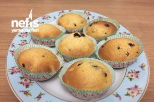 Kuru Meyveli Ve Damla Çikolatalı Muffin Tarifi