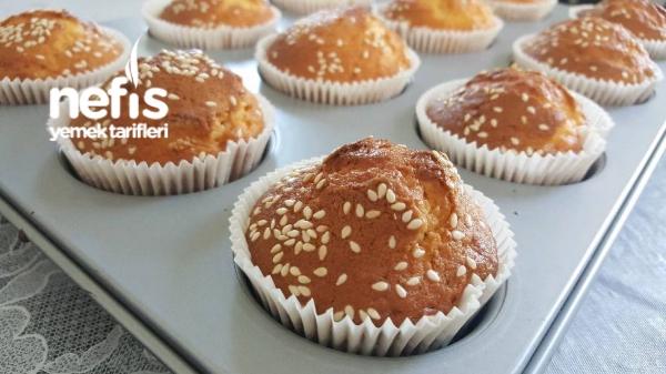 Puf Puf Kabaran İçi Karışık Muffinler