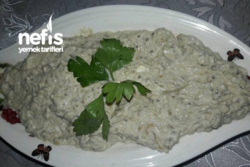 Tahinli Patlıcanlı Nefis Meze (Hatay) Tarifi