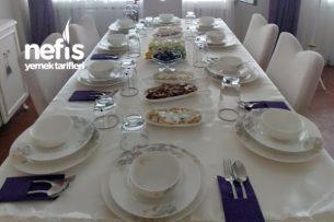 10 kişilik iftar Menüm Tarifi