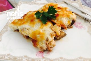 Beşamel Soslu Patlıcan Tavuk Tarifi