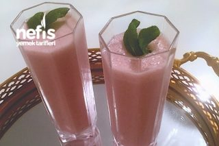 Çilekli Süt (Milkshake) Tarifi