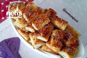 Pırasalı Peynirli Börek (Baklava Yufkasıyla) Tarifi