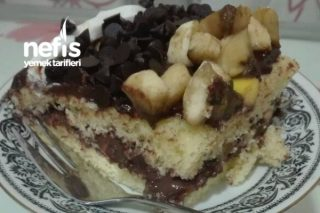 Muzlu Şeftalili Yaș Pasta Tarifi