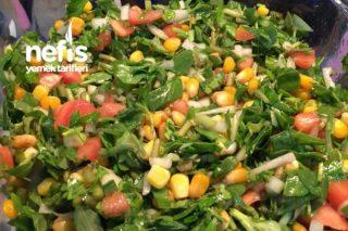 Semiz Otu Salatası (Yoğurtsuz) Tarifi