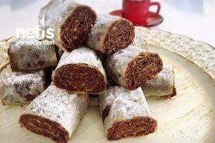 Çikolatalı Çıtır Rulolar (10 dk Da) Tarifi