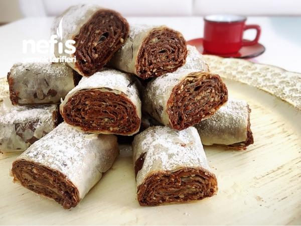 Çikolatalı Çıtır Rulolar (10dk Da)