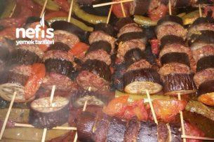 Çöp Şişte Patlıcan Kebabı Tarifi