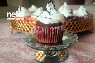 Karamelli  Böğürtlenli Cupcake (24 Adet) Tarifi