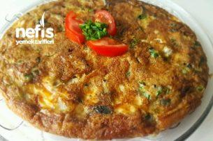 Yoğurtlu Patlıcanlı Omlet Tarifi