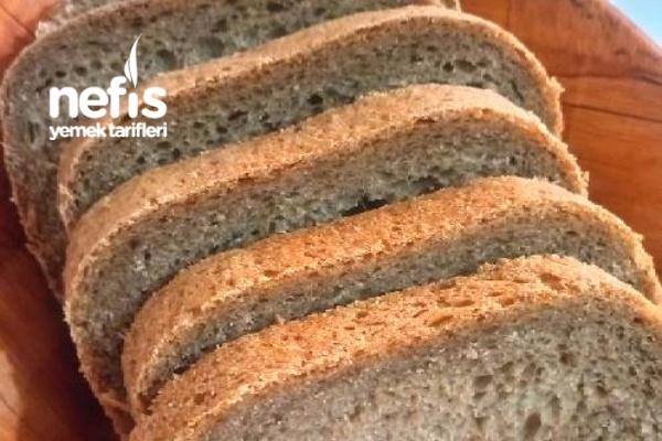 Ekmek Makinesinde Yumuşacık Çavdar Ekmeği