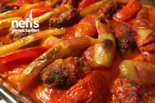 Fırında Köfteli Patates (Muhteşem Lezzet) Tarifi