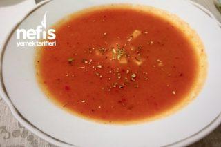 Közlenmiş Domates Çorbası (Unsuz) Tarifi