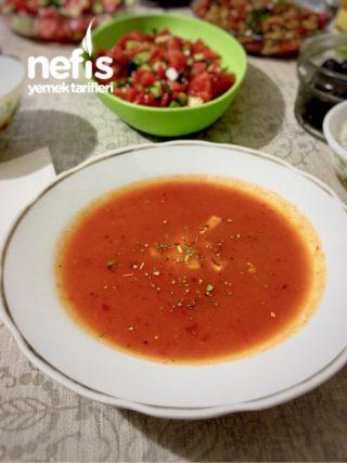 Közlenmiş Domates Çorbası (unsuz)