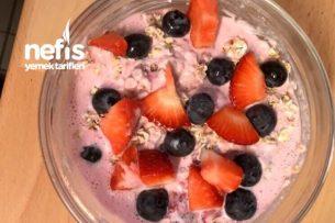 Meyveli Diyet Yoğurt (Kahvaltılık) Tarifi