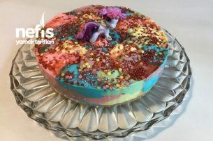 Gökkuşağı Pastası Tarifi