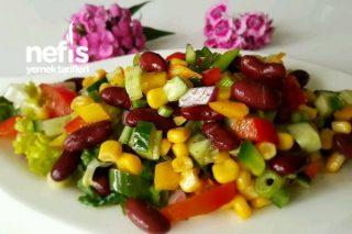 Meksika Salatası Tok Tutucu Tarifi