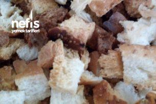 Bayat Pideden Kıtır Çorbalık Ekmek Tarifi