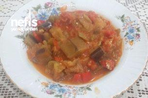 Yaz Lezzeti Zeytinyağlı Patlıcan Tarifi
