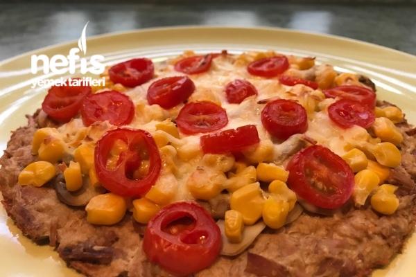 Diyet Pizza (Low Carb) Tarifi