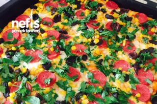 Ekmek Hamuruyla Kolay Pizza Tarifi