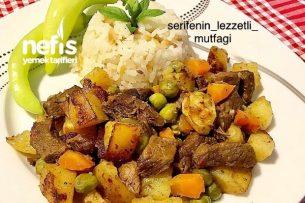 Fırın Poşetinde Sebzeli Et Tarifi