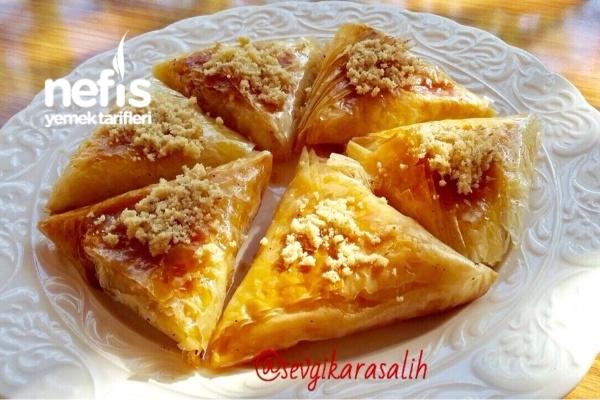 Peynirli Cevizli Muska Baklava (Çok Pratik) Tarifi