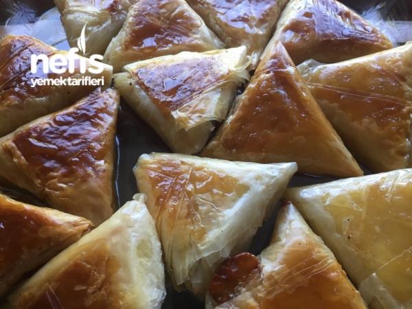 Peynirli Cevizli Muska Baklava (çok Pratik)