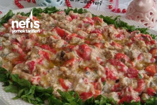Ferah Köz Patlıcan Biber Mezesi Tarifi