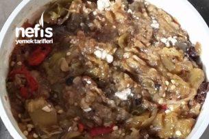Közlenmiş Biber Ve Patlıcan Salata Tarifi