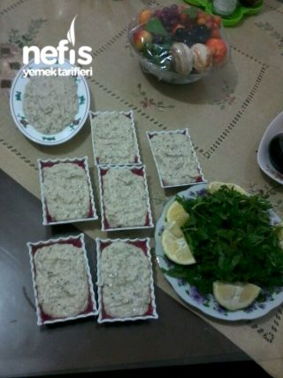 Tahinli Patlıcanlı Nefis Meze (Hatay)