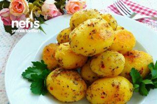 Tereyağlı Baharatlı Minik Patatesler Tarifi