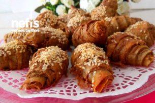 5 Dakikada Çıtır Çıtır Haşhaşlı Börek ( Katmer Tadında) Tarifi