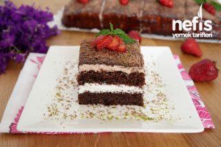 Yedikçe Yedirten Çikolatalı Pasta (Videolu İzle) Tarifi