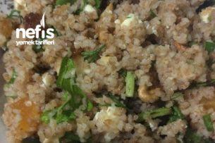 Kayısılı Bulgur Salatası Tarifi