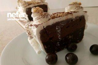 Çikolata Kremalı Pasta (Fırınsız) Tarifi