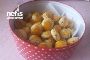 Çörek Otlu Kurabiye Kıyır Kıyır (80 Adet) Tarifi