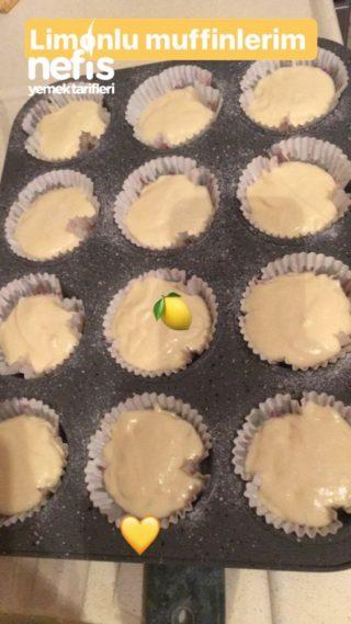 Limonlu Pamuk Muffinim